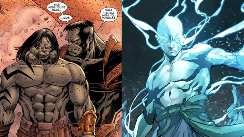 Sons of Hulk Skaar Hiro-Kala Thor Ragnarok