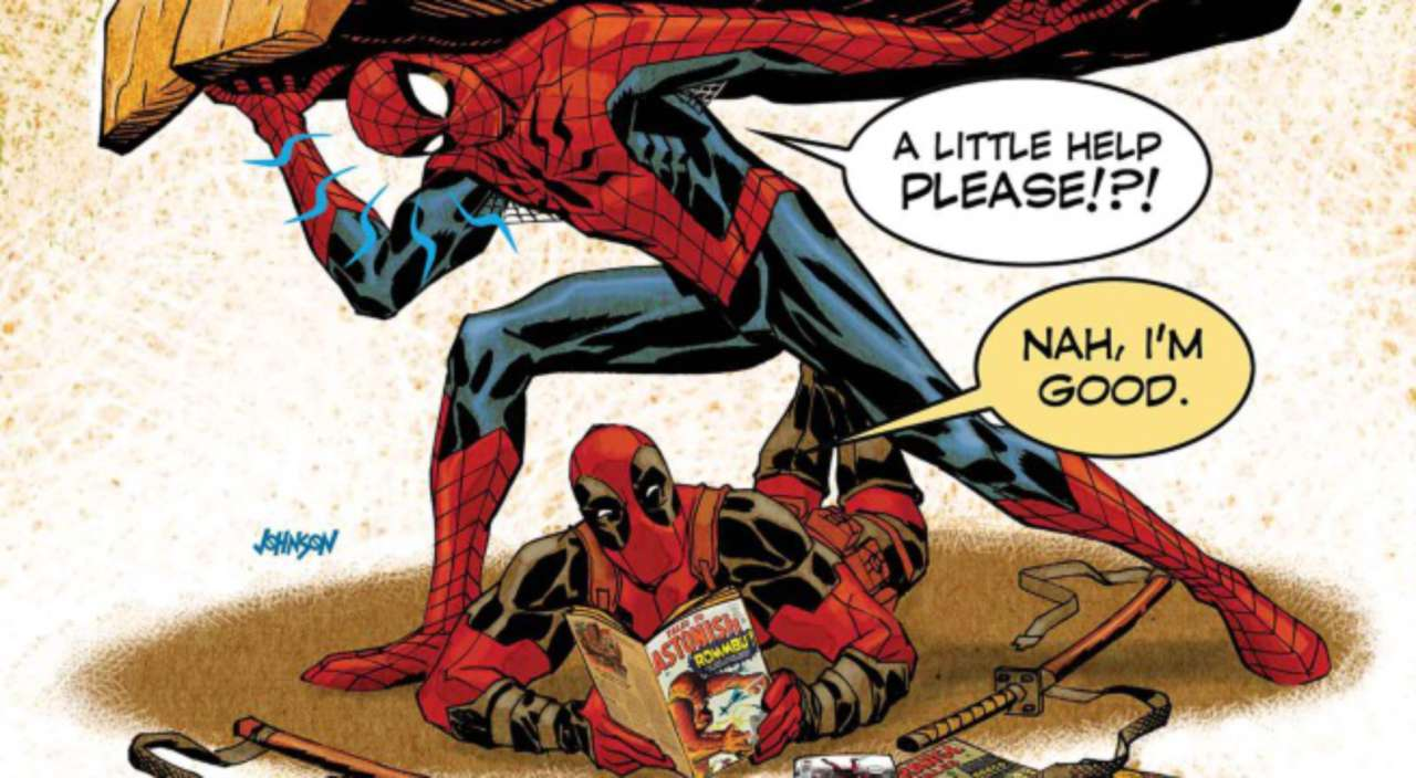 Exclusive Marvel Preview: Spider Man/Deadpool #1.MU Monsters Unleashed  Tie In