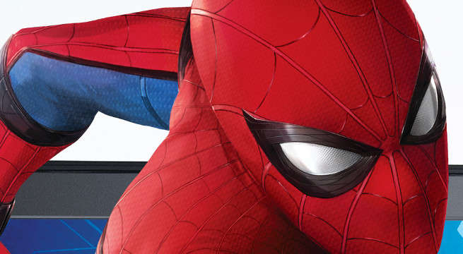 Tom Holland Orders Coffee In Spider-Man: Homecoming Costume