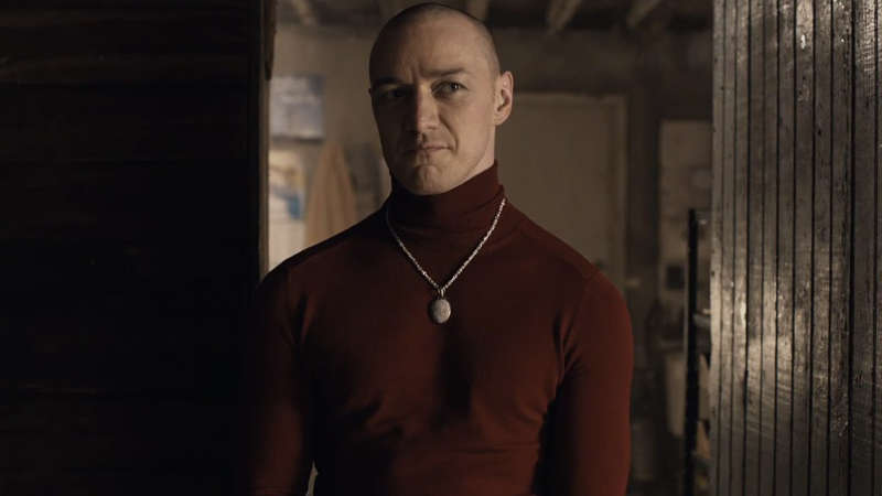 Split Movie James McAvoy as Patricia