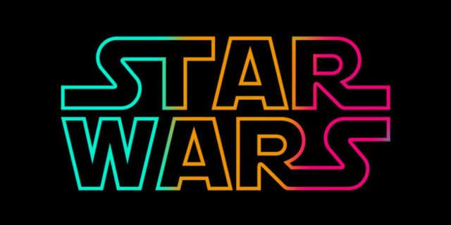 star wars logo alternate colors