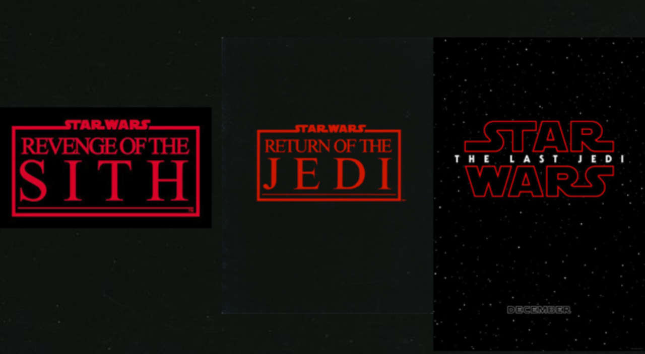 star wars the last jedi what does the red logo mean