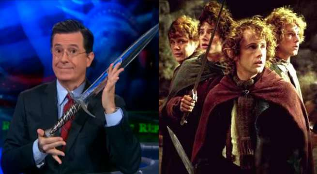 Stephen Colbert Schools Stephen Bannon On Lord Of The Rings