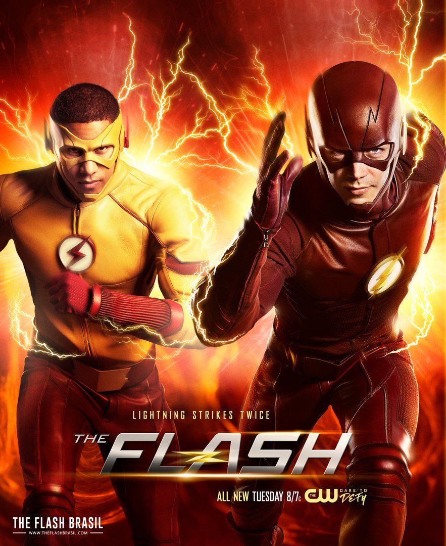 Super The Flash and Kid Flash Featured On New Lightning Strikes Twice PR-69