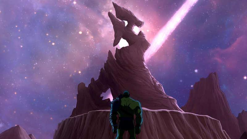 Thor Ragnarok Planet Sakaar