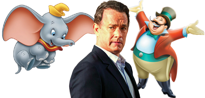Tom Hanks Considered For Villain Role in Tim Burton's Dumbo