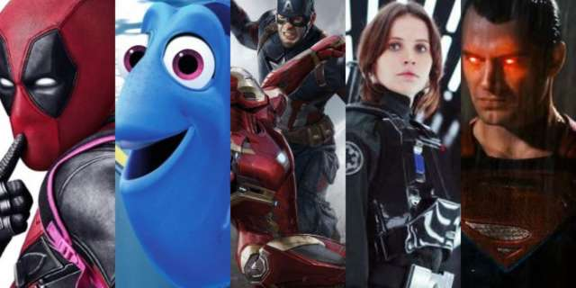 Top Grossing Movies 2016