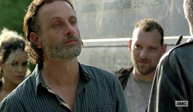 TWD Rick Sad
