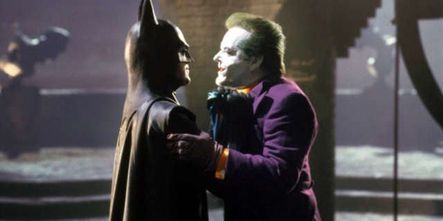 Video of Michael Keaton Jack Nicholson Peoples Choice Award 1990 Batman