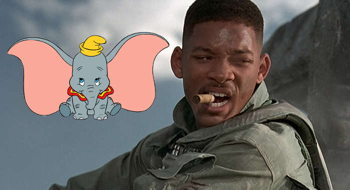 Will Smith Up For Role In Tim Burton's Live-Action Dumbo