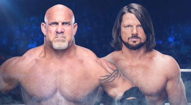 WWE-Goldberg-AJ-Styles