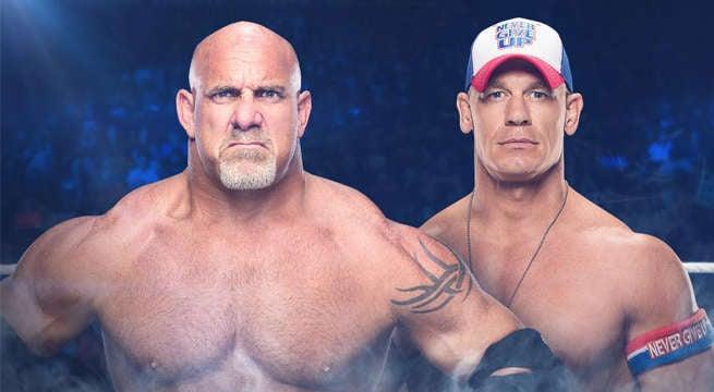 WWE-Goldberg-John-Cena
