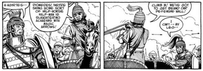 Age of Bronze - Image War Comics