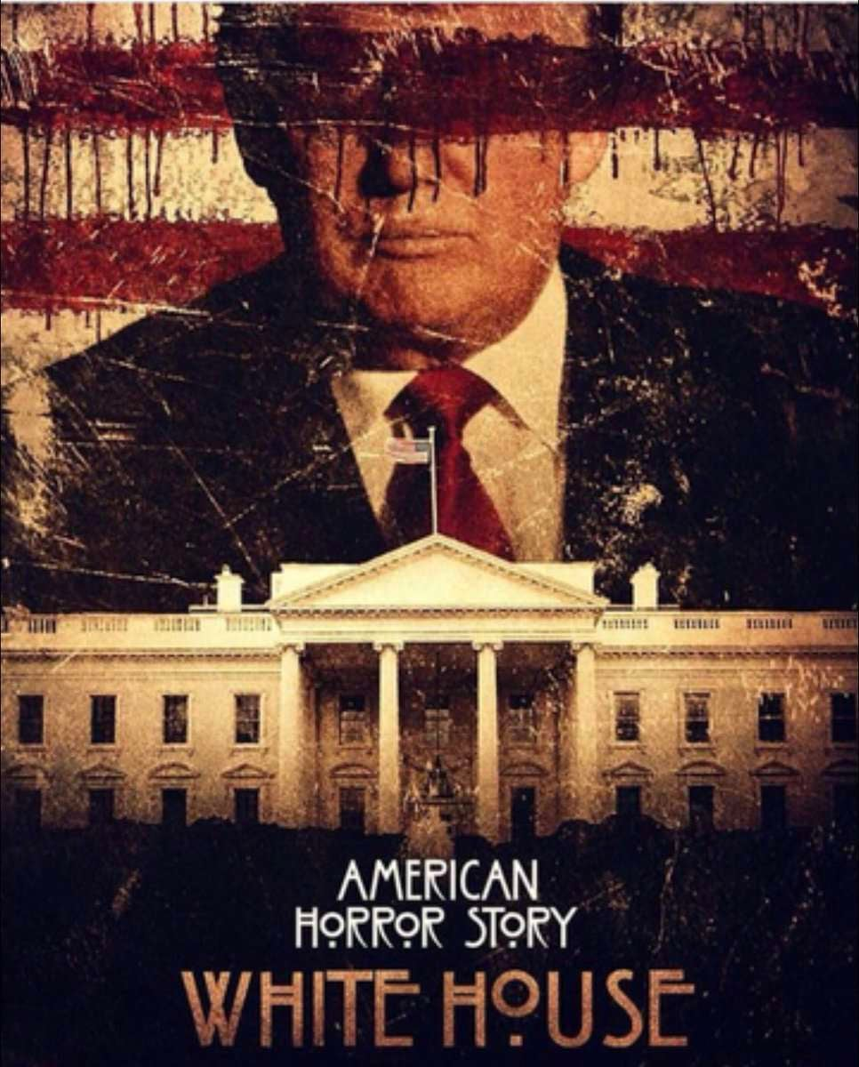 American Horror Story Season 7 White House Electin Fan Poster