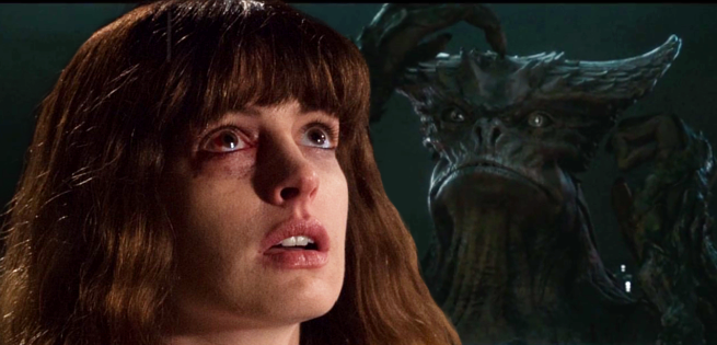 Anne Hathaway Has Monster Problems In New Colossal Trailer