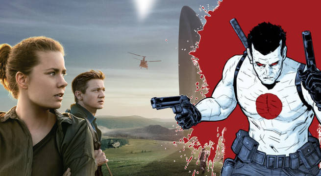 Arrival Screenwriter Eric Heisserer Building Valiant Film Universe Bloodshot Harbinger