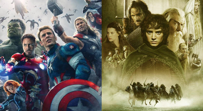 avengers lord of the rings