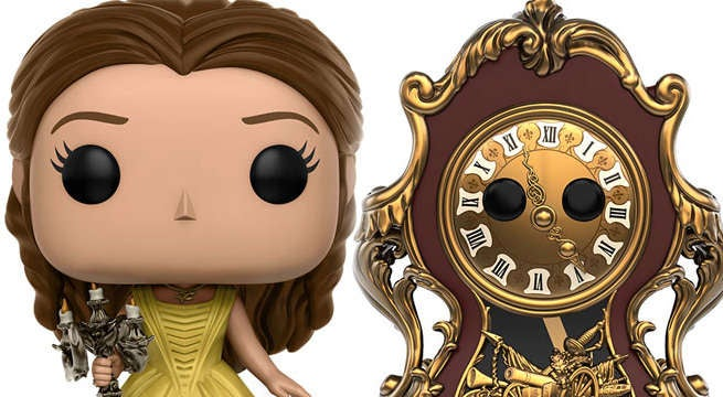 Funko Shows Off Full Line Of Beauty And The Beast POPs And Dorbz