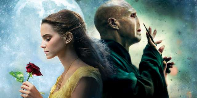 watch hermione fall for voldemort in remixed beauty and the beast fan