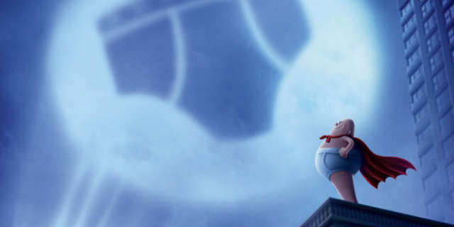 captain underpants epic first movie poster