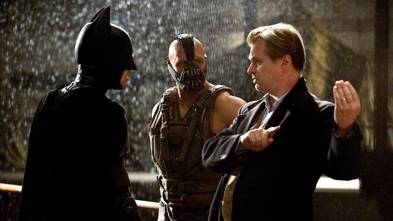 Chris Nolan on Dark Knight Rises Set