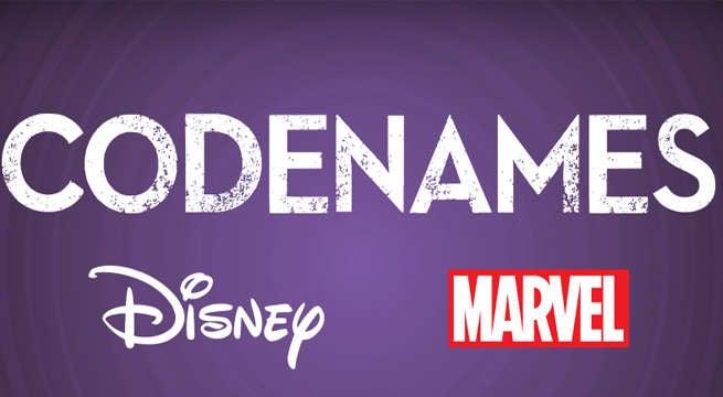 Codenames-Marvel-Disney