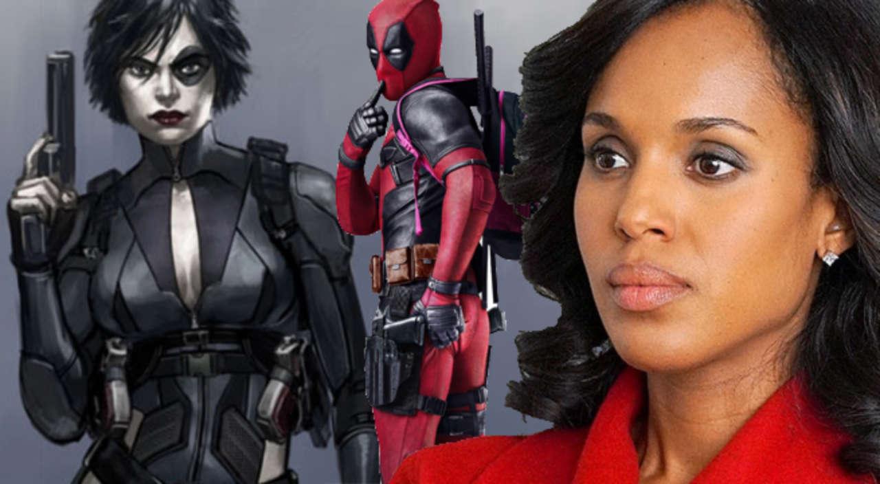 Kerry Washington Comments On Deadpool 2 Domino Casting Rumors