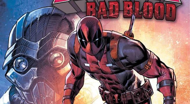 Deadpool bad Blood Cover