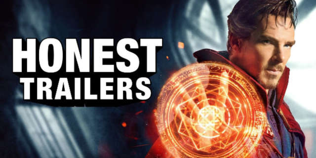 doctor strange honest trailer iron man same movie
