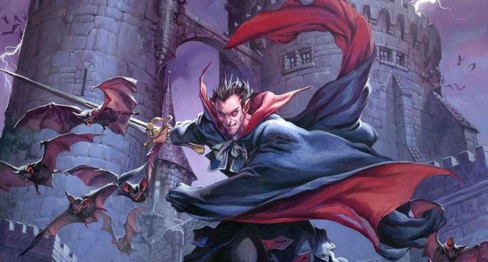 Dungeons Dragons Strahd Stranger Things Season 2