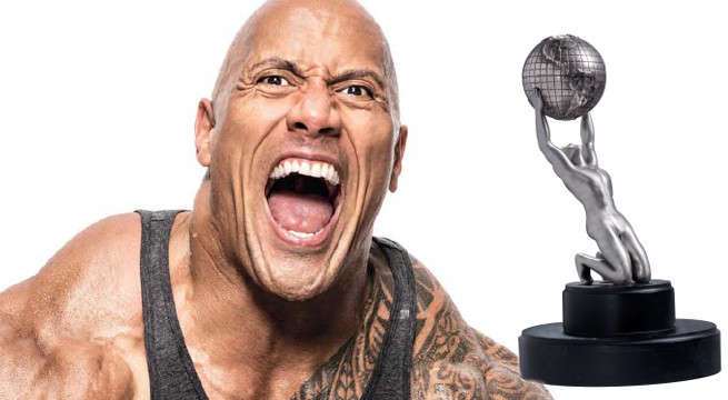The Rock Takes Home 2017 NAACP Entertainer Of The Year Award