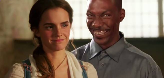 Eddie Murphy Wooes Emma Watson in Weird Beauty and the Beast Trailer