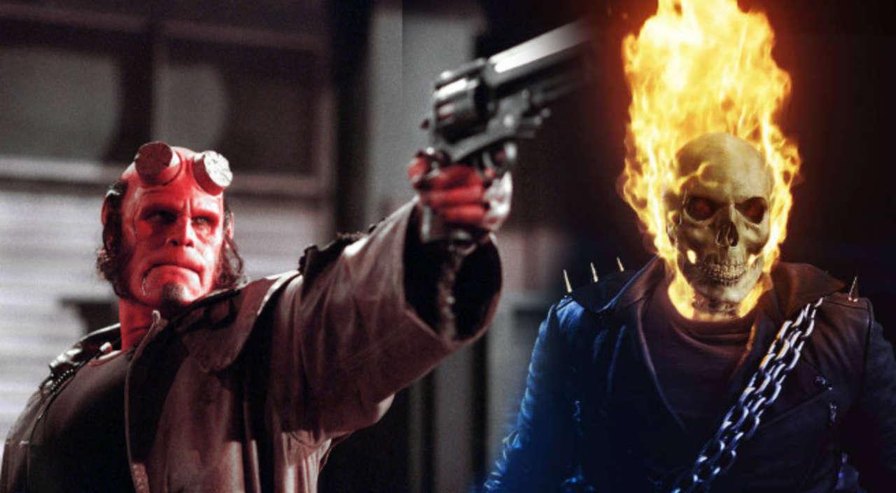 Ghost Rider Fights Hellboy In Crossover Fan Trailer
