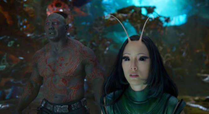 Guardians Galaxy 2 Drax and Mantis