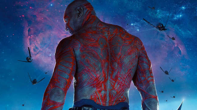 Guardians Galaxy 2 Drax Makeup Process