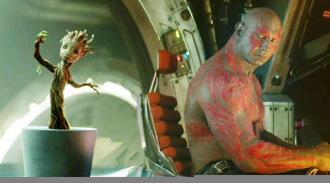 Guardians of the Galaxy vol. 2 Drax and Baby Groot