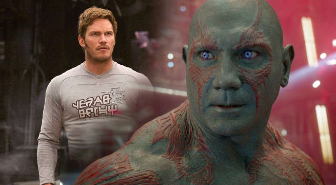guardians of the galaxy vol 2 star-lord drax new photo