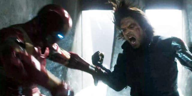 Iron Man vs Winter Soldier