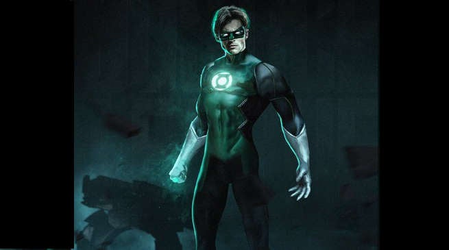 James Marsden as Green Lantern Hal Jordan