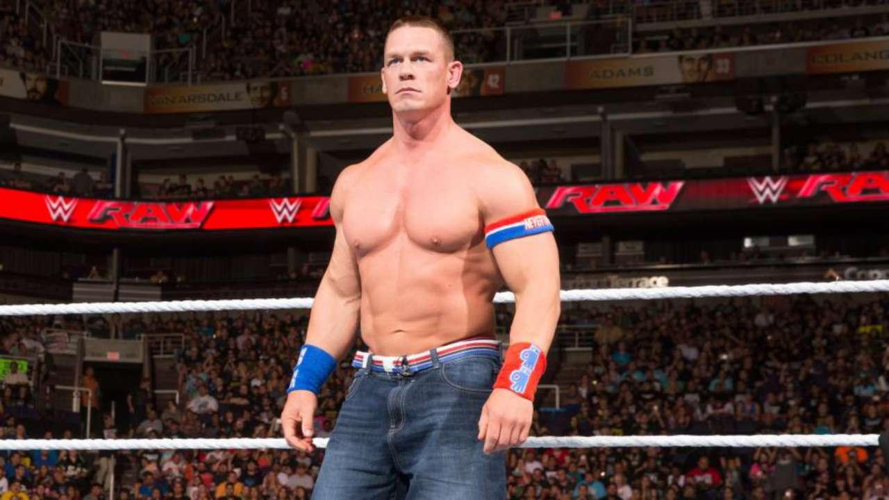 نتيجة بحث الصور عن Cena Wore Jorts in the Ring for One BIG Reason