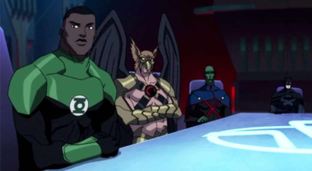 Green Lantern John Stewart Joins The Dc Animated Universe Justice League