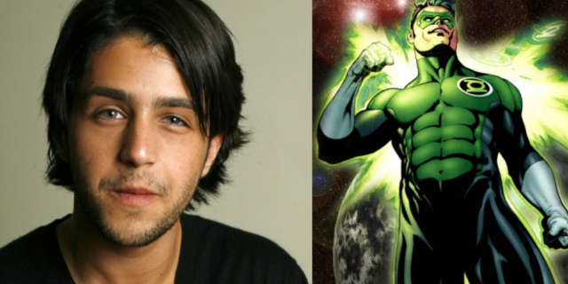 Josh Peck as Kyle Rayner in Green Lantern Corps