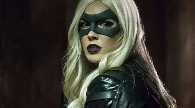 Katie Cassidy Black Canary Return Flarrowverse