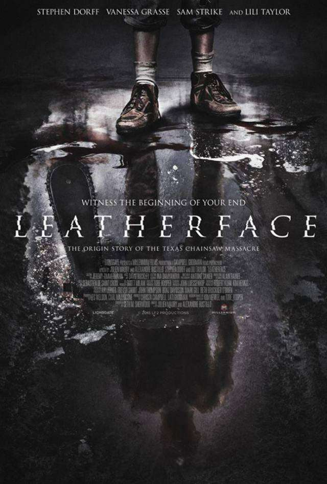 leatherface prequel movie poster