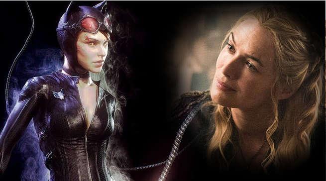 Lena Headey as Catwoman Selina Kyle DCEU