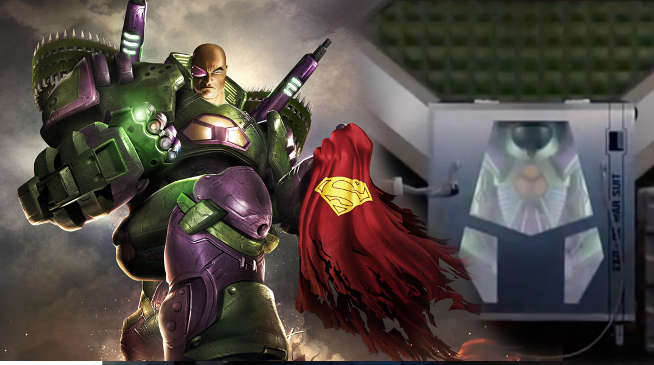 Lex Luthor War Suit on Supergirl