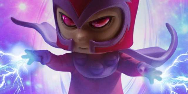 Magneto-Animated-Statue