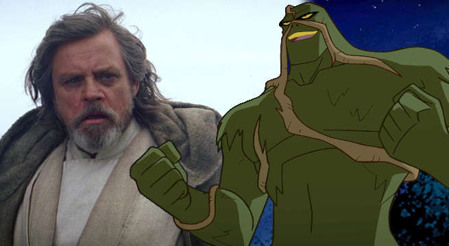 mark hamill debuts voice swamp thing justice league action