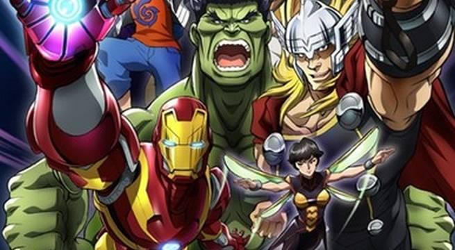 Marvel Announces New Avengers Anime