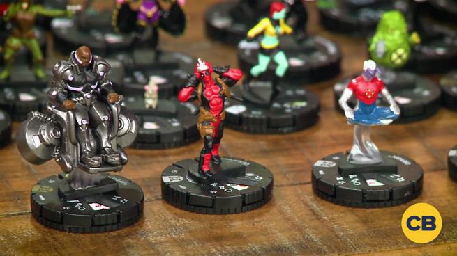 Marvel HeroClix Deadpool and X-Force